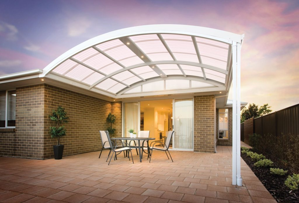 Dome & Curved Roof Patios Perth