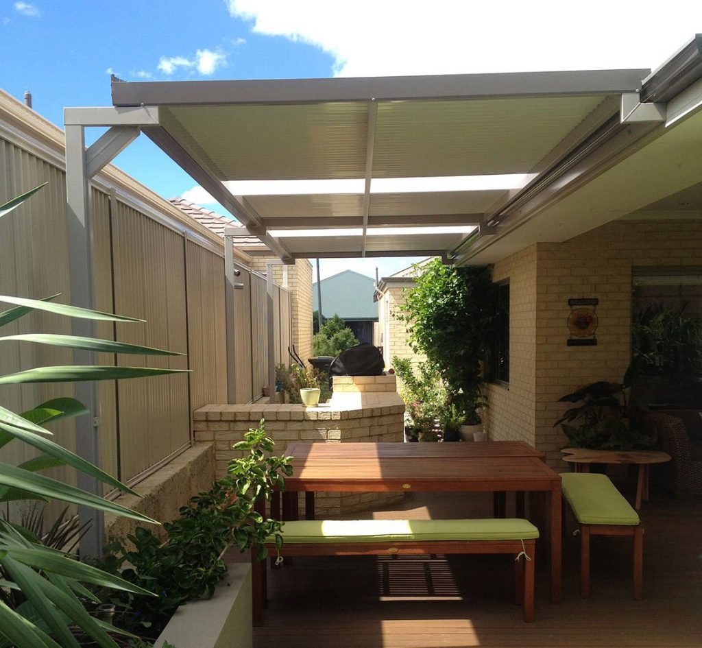 Flat Roof Patio Designs