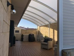 Dome and Curved Roof Patios