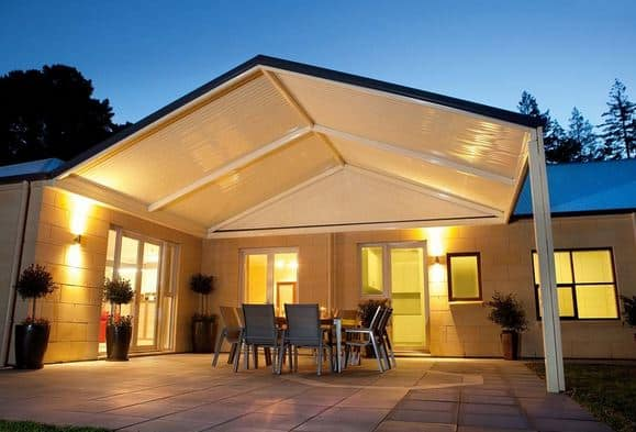 Add your main outdoor entertainment space features